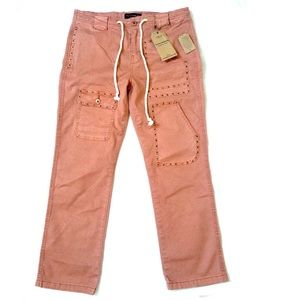 Lucky Brand Rust Color Capris Size 4/27 NWT